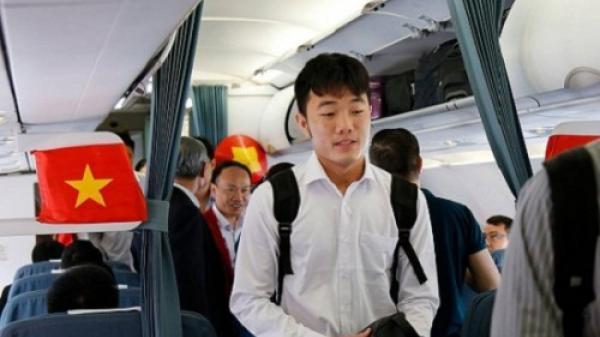 Trưa nay (28/11), đội tuyển Việt Nam sẽ bay thẳng tới Philippines bằng chuyên cơ riêng