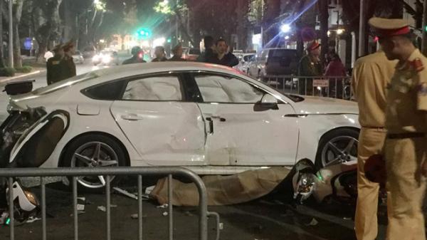 Tai nạn kinh hoàng trong đêm giữa 2 xe máy và ô tô, 1 người t.ử v.ong, 3 người nguy kịch