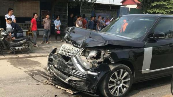 Clip: Nữ hiệu trưởng Thái Nguyên bất ngờ bị xe Range Rover tô.ng t.ử v.ong ngay gần nhà