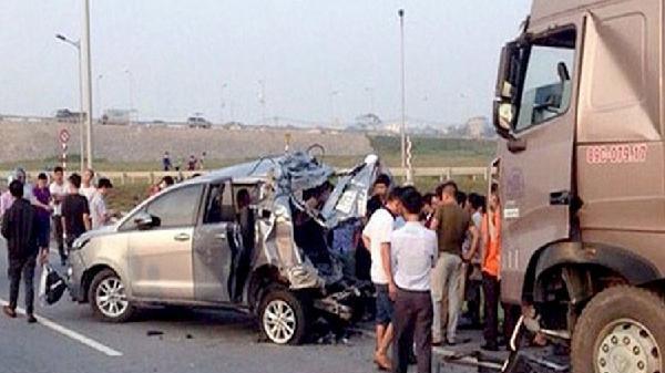 Hủy các bản án vụ xe container tông Innova đi lùi trên cao tốc khiến 4 người tử vong