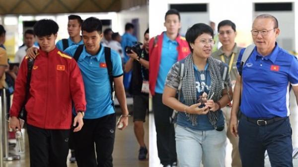 Vừa về đến Việt Nam, HLV Park Hang Seo đã ngay lập tức thưởng nóng cho các học trò
