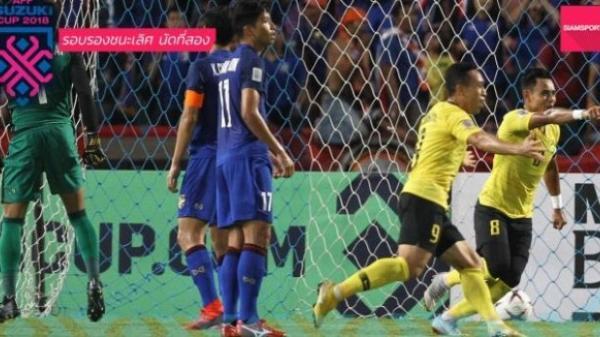 Cận cảnh cú đá penalty lên trời, bay luôn cả vé chung kết AFF Cup của tiền đạo Thái Lan