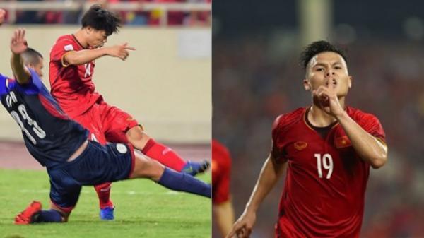 Quang Hải – Công Phượng tỏa sáng nức lòng NHM, Việt Nam nghiền nát Philippines đầy quả cảm để giành vé vào chơi trận chung kết