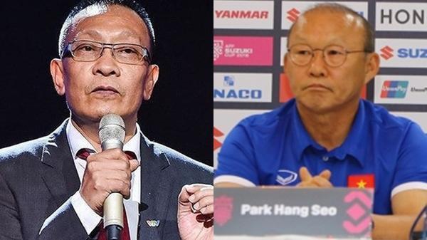 """Sau trận Bán kết, BTV Lại Văn Sâm nhắn HLV Park Hang Seo: """"Xin lỗi ông, tôi sai rồi"""""""