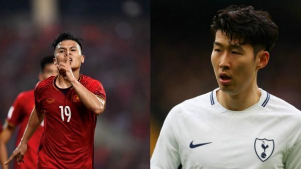 """CỰC NÓNG: Quang Hải tranh giải """"Cầu thủ hay nhất châu Á 2018″ cùng Son Heung-min"""