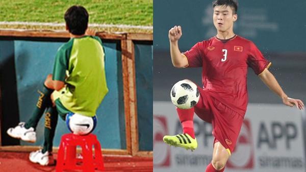 Duy Mạnh: 10 năm trước nhặt bóng ở AFF Cup, 10 năm sau đã thành trụ cột của ĐT quốc gia