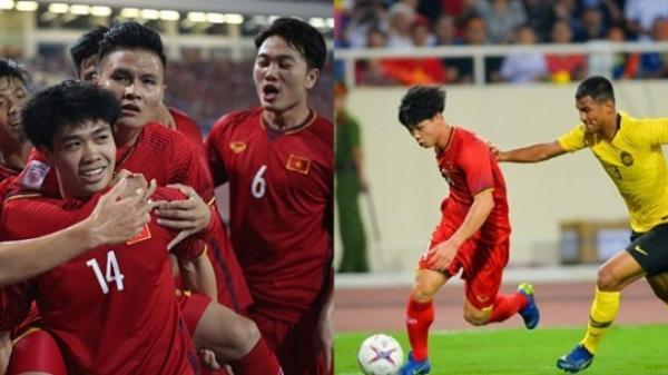 Tin vui cho thầy trò HLV Park Hang Seo: Malaysia cứ gặp Công Phượng là thua Việt Nam sấp mặt!