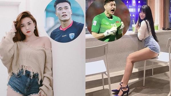 Diện quần 5cm, dàn người yêu U23 Việt Nam khoe chân dài, 3 vòng gợi cảm nghẹt thở