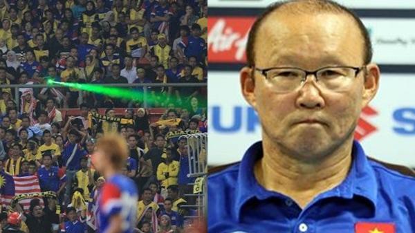 HLV Park Hang-seo lo ngại tình trạng chiếu đèn lazer, khẳng định tham vọng chinh phục AFF Cup 2018