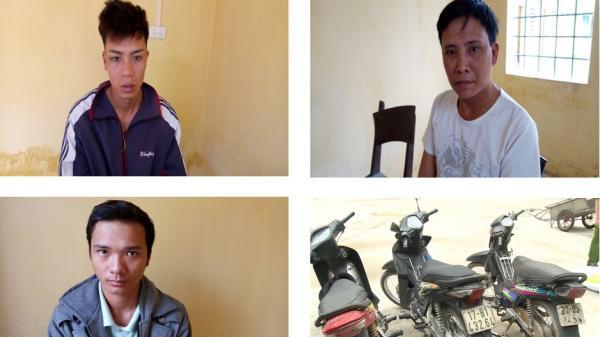 Thái Bình: Bắt 3 đối tượng về hành vi trộm cắp tài sản tại Hưng Hà