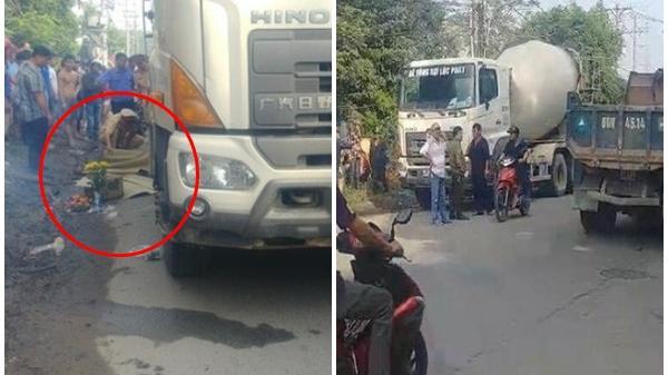 Người mẹ gào khóc khi chứng kiến cảnh con gái 6 tuổi bị xe bồn cán t.ử vo.ng trên đường đi học
