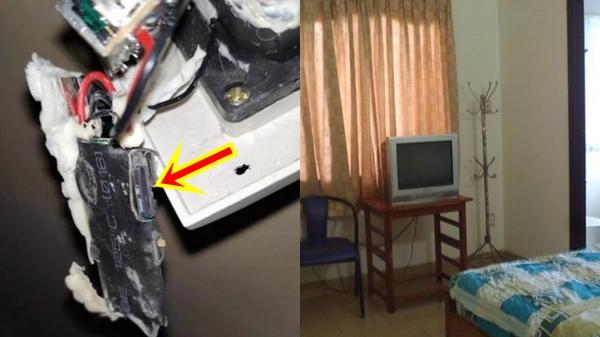 """Nhà nghỉ gắn camera chĩa thẳng vào giường, phát hiện 1.200 clip """"đen"""" trong thẻ nhớ"""