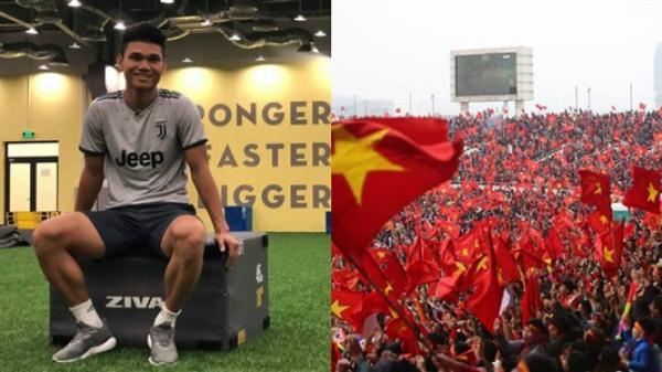 Xuân Mạnh mong thấy đồng đội giơ cao cúp vô địch tại Mỹ Đình