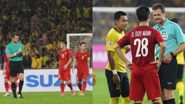 Bắt xong trận Việt Nam với Malaysia, trọng tài FIFA nhận cái kết cực đắng