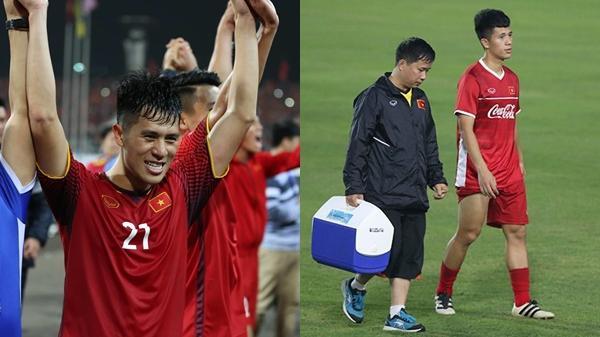 Đình Trọng nhận tin vui cực lớn sau khi dính chấn thương, bố Park thở phào nhẹ nhõm