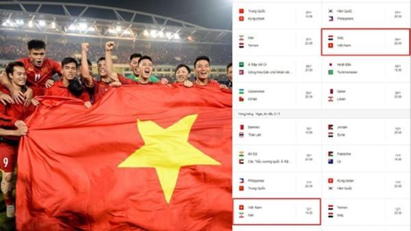 Lịch thi đấu chi tiết vòng chung kết Asian Cup 2019 của tuyển Việt Nam