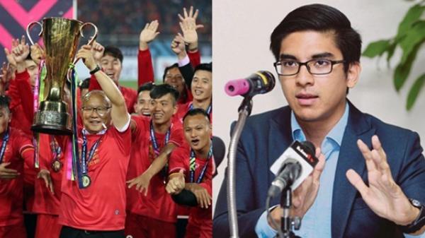 Nhìn thầy trò ông Park lên ngôi vô địch, Bộ trưởng Malaysia gửi thư chúc mừng và thừa nhận Việt Nam quá đỉnh