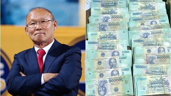 Được thưởng số tiền khổng lồ, đây là việc đầu tiên mà HLV Park Hang-seo nghĩ tới