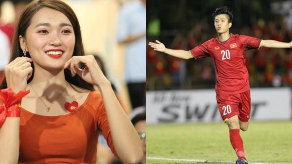 """Báo Trung Quốc ví Văn Đức như Ronaldo, gọi bạn gái là """"tiên nữ hạ phàm"""""""