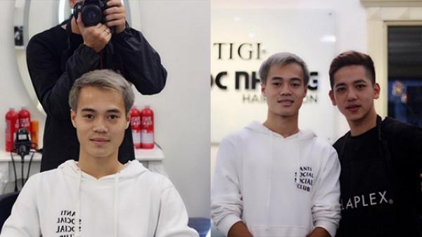 """Văn Toàn """"tóc bạc"""" đã trở lại, hứa hẹn sẽ lợi hại hơn xưa vì màu tóc siêu ngầu"""