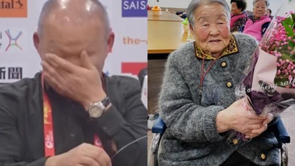 3 lần HLV Park Hang-seo bật khóc khi nói về mẹ
