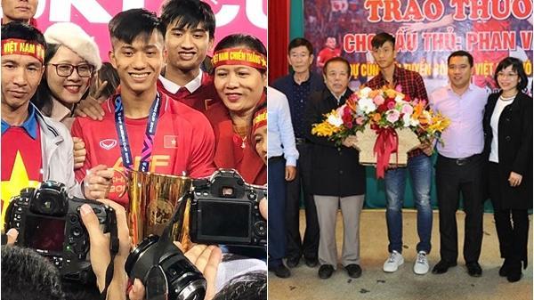 Toả sáng ở AFF, Phan Văn Đức bất ngờ nhận thưởng nóng cực khủng từ quê nhà