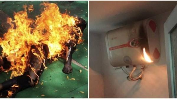Đau đớn 3 đứa trẻ cùng ch.ết cháy vì thói quen dùng bình nóng lạnh của mẹ