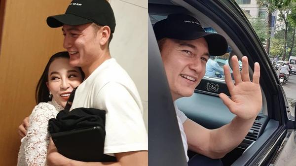 Đặng Văn Lâm chia tay người thân về Hà Nội chuẩn bị Asian Cup