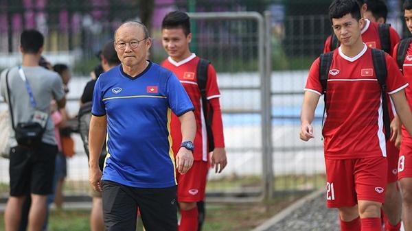 Chưa kịp đi Hàn, Đình Trọng có thể được HLV Park Hang-seo gọi  trở lại dự Asian Cup 2019