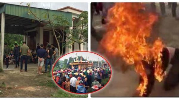 Hà Tĩnh: Một phụ nữ trùm chăn rồi tưới xăng lên người, tự thiêu tại nhà