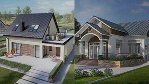 6 mẫu nhà cấp 4 sang chảnh ở nông thôn chi phí từ 300 - 500 triệu, không sợ lỗi mốt