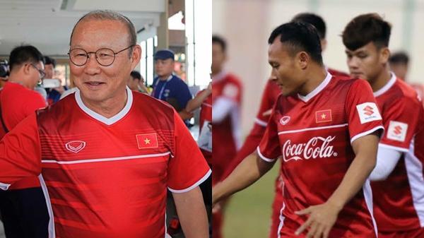Học trò báo tin cực vui cho HLV Park Hang-seo trước thềm Asian Cup