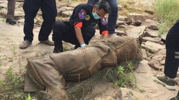 Thái Lan: Điều tra vụ hai th.i th.ể bị nhồi bê tông trôi dạt trên sông Mekong