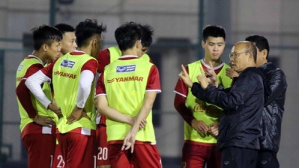 Cầu thủ cuối cùng bị HLV Park Hang-seo loại khỏi Asian Cup 2019?