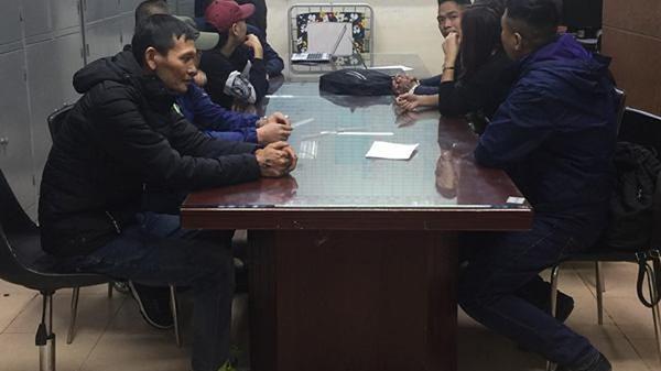 Đối tượng quê Thái Bình và 9 người khác tổ chức đánh bạc trên sông Hồng sa lưới