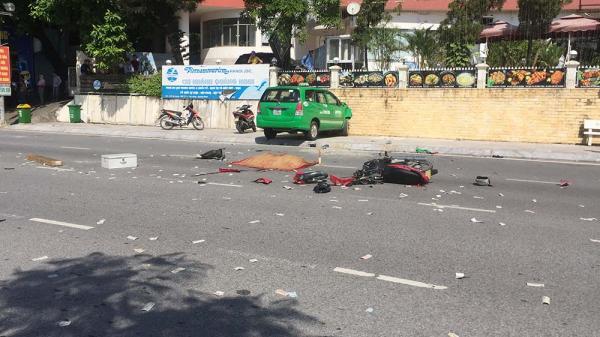 Hai taxi va nhau húc người đàn ông quê Thái Bình tử vong tại chỗ