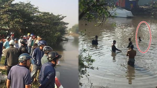 Nhậu say rơi sông rồi tự bơi về nhà ngủ, để mặc hàng chục người mò xác trong vô vọng
