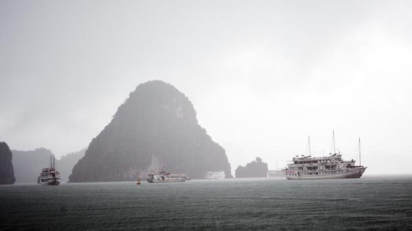 CẢNH BÁO mưa diện rộng và không khí lạnh tăng cường ở Quảng Ninh