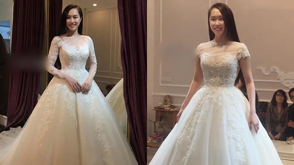 NSND Trung Hiếu đưa bạn gái kém 19 tuổi đi thử váy cưới