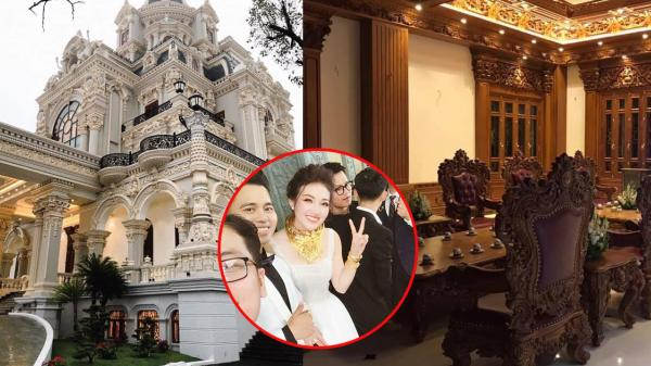 """Nam Định: Rolls-Royce Phantom """"biển khủng"""" rước cô dâu vàng đeo trĩu cổ"""