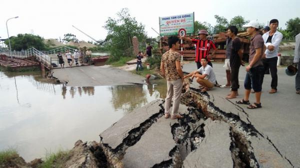 Hải Phòng xin Thủ tướng cho xây cầu nối với Thái Bình thay cầu phao sông Hóa