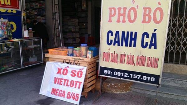 Xử lý nghiêm hành vi bán vé số Vietlott trái phép ở Thái Bình