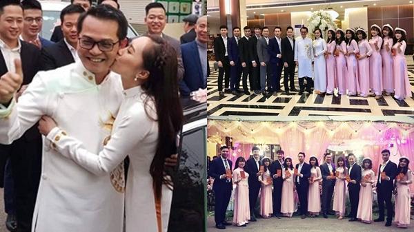 Nhiều nghệ sĩ nổi tiếng về Sơn La dự lễ cưới NSND Trung Hiếu quê Thái Bình