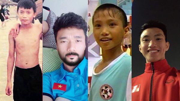 """Chẳng chịu ngồi yên, các cầu thủ Việt Nam cũng """"đu"""" trend thử thách 10 năm, nhìn đến Tiến Dũng chẳng ai nhịn nổi cười"""
