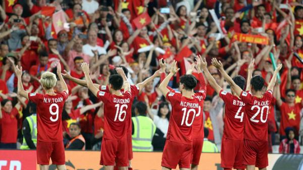 ĐT Việt Nam còn kém đối thủ ở vòng 1/8 Jordan bao nhiêu bậc trên BXH FIFA?