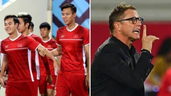 """Asian Cup 2019: HLV ĐT Jordan """"bối rối"""" khi quá nhiều cầu thủ Việt Nam có tên """"Nguyen"""""""