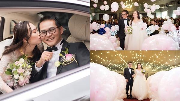 Lễ cưới lãng mạn của NSND Trung Hiếu quê Thái Bình và cô dâu 9X ở Sơn La