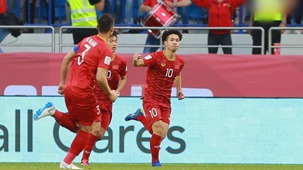 ASIAN CUP 2019: Việt Nam hoàn toàn làm chủ thế trận trước Jordan trong hiệp 2