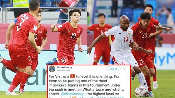 'Việt Nam thuộc top đội chơi ấn tượng nhất Asian Cup'