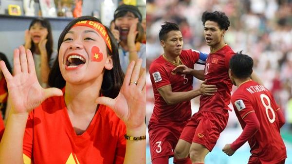 """""""Phát sốt"""" với thống kê của Việt Nam sau 90 phút đấu Jordan"""